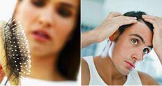 hair loss avoidance female natural home remedy, All-natural remedies to stop hair loss and promote hair growth Yogurt Hair Mask, Banana Hair Mask, Banana For Hair, Stop Hair Loss, Prevent Hair Loss, Excessive Hair Loss, Hair Growth Cycle, Hair Pack, Health And Fitness