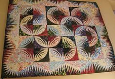 Japanese Fan ~ Quiltworx.com, made by Certified Shop, Tennessee Quilts