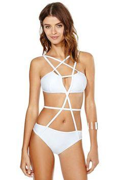 Chromat Pentagram Swimsuit