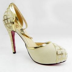 Top quality Christian Louboutin Annees Folles 140 mm Pumps Women Champagne:http://www.christianlouboutinsoutlet.co.uk