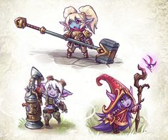 I don't know a single thing about League of Legends, but those yordles are pretty cute and funny so I gave it a shot! They are actually three little dra. League of Yordles Poppy League, League Of Legends Poppy, League Of Legends Characters, Lol League Of Legends, Game Character, Character Design, Watercolor Pencil Art, Saitama One Punch Man, Fanart