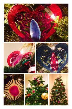 Agate Christmas Ornaments www.lvcr8.com