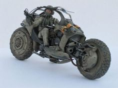 One of the Kryten Clan's or Thugs as known on Os'tara to other clans, vehicles sci fi motorcycle