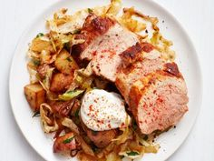 Get this all-star, easy-to-follow Hungarian Pork and Potatoes recipe from Food Network Kitchen
