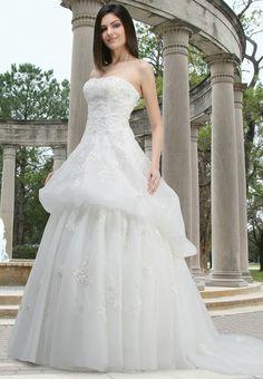 Style 50062 » Wedding Dresses » DaVinci Bridal » Available Colours : Ivory, White