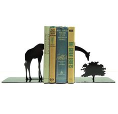 These serene bookends. | 27 Adorable Giraffe Products You Need In Your Life