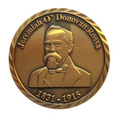 Get an exclusive Jeremiah O'Donovan Rossa Commemorative Coin via the Glasnevin Online Shop.