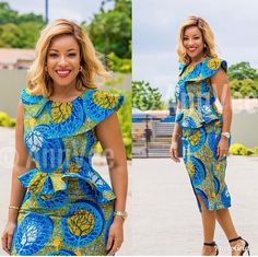 African fashion is available in a wide range of style and design. Whether it is men African fashion or women African fashion, you will notice. Latest African Fashion Dresses, African Fashion Designers, African Inspired Fashion, African Dresses For Women, African Print Dresses, African Print Fashion, Africa Fashion, African Attire, African Wear