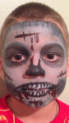 im so bummed will wants to be a zombie for halloween no more - Zombie Halloween Faces