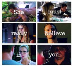 #Arrow #Olicity ♥