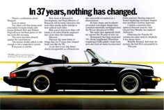 1974 Porsche Most Demanding Racetracks Vintage Print Ad