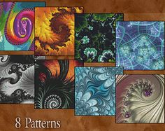 Counted Cross Stitch Designs Fractal Cross by StitchXCrossStitch