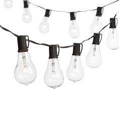 Williamsburg bulbs with heavy duty 10 socket vintage light strand vintage edison bulb outdoor string lights aloadofball Gallery