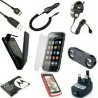 We also deal in sale of phone spare parts