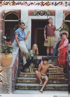 My Family and Other Animals, a very charming and hilarious PBS production based upon the autobiography of British naturalist Gerald Durrell