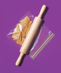 Zippered Plastic Bag as Crumb Catcher | New roles for items that can help you get dinner on the table.