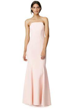 Jill Jill Stuart Blush Academy Gown- renttherunway.com