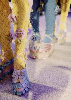 Meadham Kirchhoff backstage by Eleanor Hardwick