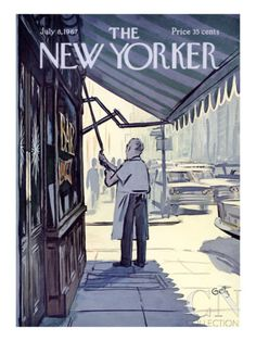The New Yorker Cover - July 8, 1967 Poster Print by Arthur Getz at the Condé Nast Collection