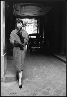 Renée Breton in Christian Dior, 1950s
