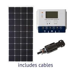 Renogy New 400-Watt 12-Volt Mono Solar Premium Kit for Off-Grid Solar System-PREMIUM400DR40 - The Home Depot Solar Panel Kits, Solar Panel System, Off Grid Solar Panels, Off The Grid, Electronic Recycling, Recycling Programs, Lighting System, Electronic Devices, Easy