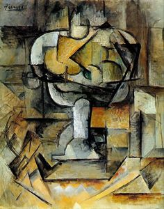 Pablo Picasso. The fruit bowl. 1920 year