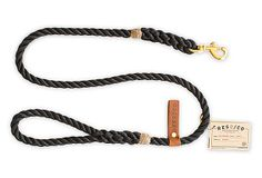 The Strong Rope Dog Leash, Black