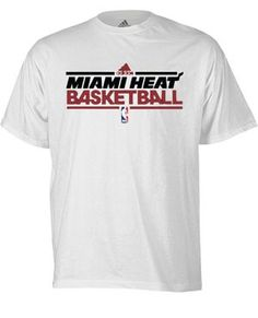 White Hot HEAT Gear on Pinterest | Miami Heat, Adidas and Dwyane Wade,IJOZCSX291,adidas Miami HEAT S/S Adult Practice Tee