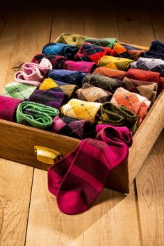 Argyle socks, or any socks with elegant personality.