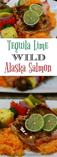 This Easy Recipe for wild Alaska salmon with Tequila Lime Glaze packs in the tangy flavor of lime with the scent of Tequila and smoothes it out with a savory glaze of sesame oil. I can't decide which is best, the aroma or the flavor. OK – we'll go with both! Perfect for dinner or lunch it's a true family favorite. Ad #IC #AskForAlaska