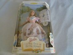 NEW COLLECTOR EDITION BARBIE DOLL THE TALE OF PETER RABBIT BEATRIX POTTER 19360  #Mattel