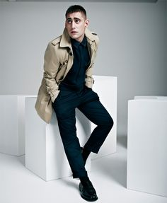 "Michael Socha, of ""This is England"" fame."