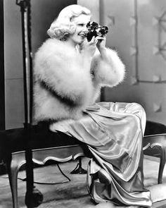 "sparklejamesysparkle: ""Jean Harlow, 1935. """