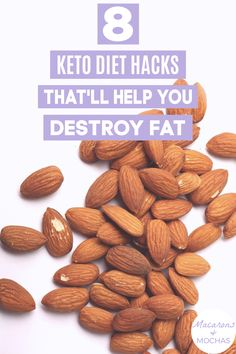 These Keto Diet hacks are THE BEST! I'm so happy I found these GREAT ketogenic diet tips! Now I have some great ways to lose weight and stick to the keto diet. #Macarons&Mochas #KetoHacks Diet Hacks, Diet Tips, Weight Loss Plans, Weight Loss Tips, Health Diet, Health And Wellness, Ways To Lose Weight, Mocha, Macarons