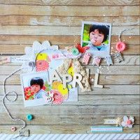 A Project by michi(poki) from our Scrapbooking Gallery originally submitted 05/25/12 at 08:17 PM