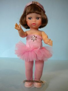 Amanda Jane Dolls - She had lots of clothes but I just loved her ballet outfit