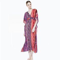 Phyllis Boho Resort Wear Online Summer Kaftans and Dresses .: Sequins and Sand Resort Wear :. Casual Summer Dresses, Resort Wear, Shopping Hacks, Kimono Top, Sequins, Kaftans, Silk, Boho, My Style