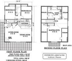 Simple Small House Floor Plans | Search here for unique house plans, from small house plans to two