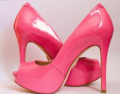Pink Heels - what a perfect shade!