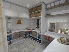 El vestidor es un espacio cada día más demandado en vivienda…