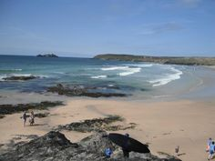 Gwithian Beach overlooking Godrevy Lighthouse © National Trust