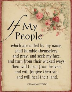 (KJV) - one of my favorite verses Bible Verses Quotes, Bible Scriptures, Faith Quotes, Wisdom Sayings, Prayer Scriptures, God Prayer, Prayer Cards, Daily Prayer, 2 Chronicles 7 14