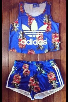 shorts adidas tropical pineapple cute matching crop top blue shorts shirt top jumpsuit adidas wings adidas palm tree print blue skirt shorter adidas origins swag dope