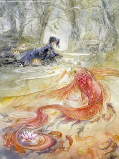 The Art Of Animation, Stephanie Pui-Mun Law Cinderella Art, Fairy Art, Belle Photo, Faeries, Painting & Drawing, Mythology, Watercolor Art, Fantasy Art, Fairy Tales