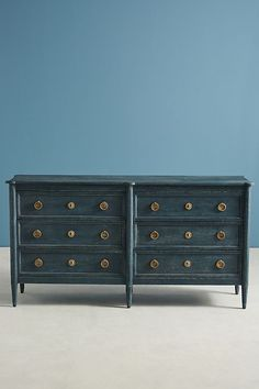 Shop vintage-inspired bedroom dressers, three- and five-drawer dressers and unique armoires in all shapes, colors and sizes. Unique Bedroom Furniture, Hanging Furniture, White Furniture, Painted Furniture, Kitchen Furniture, Furniture Ideas, Bedroom Ideas, Furniture Stores, Furniture Makeover
