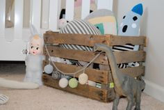 unique storage    Nursery Tour: 8 Photos Inside A Cozy Shared Space   Disney Baby