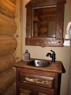 Interior Log Home Photo Gallery - GreatLand-LogHomes.com