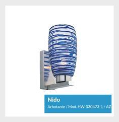 Nido Arbotante Mod. HW-030473-1 / AZ