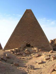 Pyramid in Jebel Barkal - Sudan