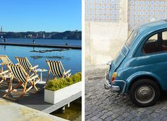 Travelling by Colours: the Lisbon Guide